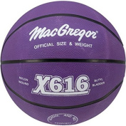 MacGregor Multi-Colour Official Basketball, Purple