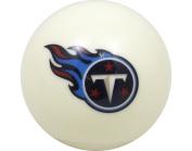 Tennessee Titans White Billiard Pool Cue Ball