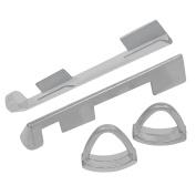Ocr Aluminium Cue Tip Clamp Billiard Replacement Tool Pool Cue Stick Clamp 2 Pcs