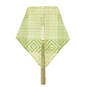 Sunny Hill Natural Bamboo Hand Fans Hemp Rope Binding Handle Chinese Traitional
