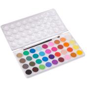 ULTNICE 36PCS Watercolour Painting Kit Fundamentals Water Colour Pan Set With 1 Paintbrush