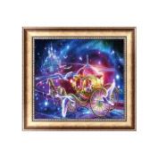 NNDA CO 5D Diamond Painting Carriage Embroidery Cross Stitch Crafts DIY Home Decor,1Set
