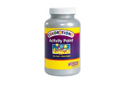 Colorations Activity Paint, Metallic Silver - 470ml