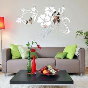 Wall Sticker,3D Mirror Vinyl Removable Wall Sticker Decal Home Decor Art DIY