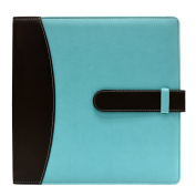 Ultra Pro -8.5 x 11 - Blue - 3-Ring Photo and Scrapbook Album with Trim