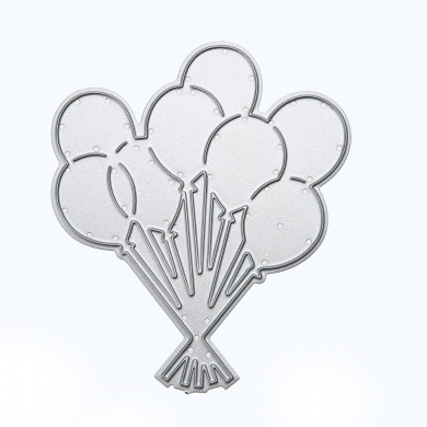 Diamondo Balloon Die Cut Embossing Card Making Scrapbooking DIY Stencil Carbon Steel