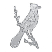 Diamondo Bird Die Cuts Scrapbooking Embossing Manual Toy Metal Embossing DIY Stencil