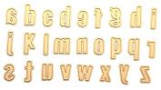 BleuMoo 1 Set 26 Pcs Metal Cutting Dies Stencil Template for DIY Scrapbook Album Paper Card Craft Decoration