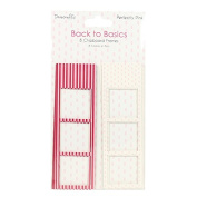 Dovecraft Back to Basics Perfectly Pink - Card Craft Decorative Photo Frames