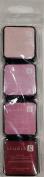 Hampton Art Studio G Set of 4 Large Dye Ink Pads - Acid Free - Passion Pink