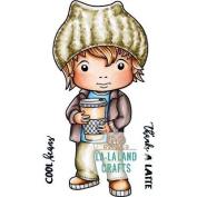 La-La Land Cling Stamps 11cm x 8.9cm -Cool Beans Luka