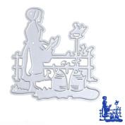 Aixia DIY Carbon Steel Scrapbooking Die Cutting Stencils Album Card Crafts Paper 541