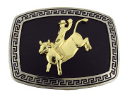 Rodeo Belt Buckle Western Cowgirl Metal Fashion Costume Texas Style