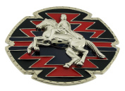Western Rodeo Belt Buckle Cowgirl Fashion Costume