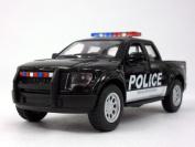 Ford F-150 SVT Raptor Police 1/46 Scale Diecast Metal Model - BLACK