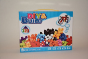 Learn@Play DIY & Build 100 pcs Building Block Set CT901 Connect the blocks any way and build anything ! Smart math learning boys and girls learn counting block learn as you play