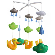 Baby Toy, Baby Gift, Infant Musical Mobile [Swimming Duck]