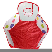 Diameter 120cm Pop up Hexagon Polka Dot Kids Toddlers Ball Play Pool Tent Carry Tote Toys