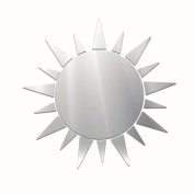 Wall Stickers ZTY66, Removable Acrylic Mirror Style Sun Mural Stickers for DIY Home Decor