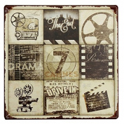 KISSMYTWINS Movie Feature Tin Sign Vintage Metal Plaque Poster Bar Pub Home Wall Decor