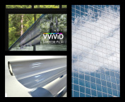 VViViD One Way Mirror Window Film Silver