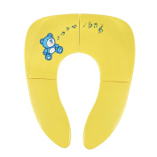 Folding Portable Potty Seat - Travel Potty Seat for Kids Ages 1-6, Yellow