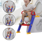 3 in 1 Baby Potty Training Toilet Chair Seat Step Ladder Trainer Toddler NEW BP