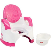 Fisher-Price 2-Position Adjustable Height Custom Potty Training Seat, Pink