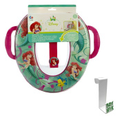 The Little Mermaid Soft Potty Seat with Toilet Tank Potty Hook