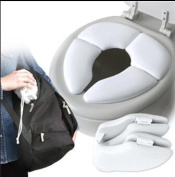 2016 New Travel Folding Baby Toilet Seat Padded Potty Seat Cushion Toilet Training For Kids Baby Toddler Traveller