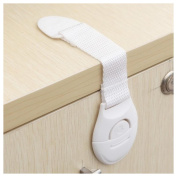 Cabinet Lock, Inkach Baby Toddler Safety Fridge Drawer Door Cabinet Cupboard Locks Gift