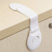 GOOTRADES 15 Pcs-Set Baby Drawer Cupboard Cabinet Door Safety Lock with Free Plastic Safe Latch