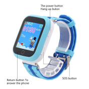 TWOX GPS smart watch Q750 with early learning function Wifi 3.9cm touch screen Q100 baby watch SOS Call Location Device Tracker for Kids Safe