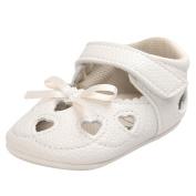 Ec Baby Girl Heart Sandal Shoe Casual Bowknot Shoes Sneaker Anti-slip Soft Shoes