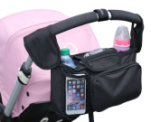 Universal Carriage Bag, Nappy Bag – Stroller Organiser, Perfect Baby Shower Gift