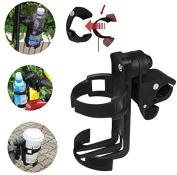 Delicate Baby stroller cup holder universal children's bicycle bottle rack Black Hot Selling