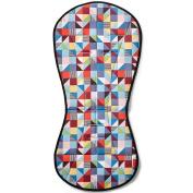 Skip Hop On-The-Go Cool Touch Stroller Liner, Prism
