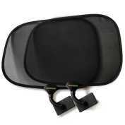 Emmzoe Clip On Sun Shade Baby Toddler UV 50+ Protection for Stroller, Car Seat, Table, Outdoors