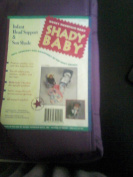"""Shady Baby Infant Head Support and Sun Shade """" Purple"""""""