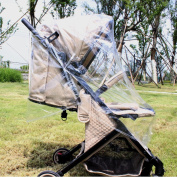 Taodou Universal Waterproof Baby Umbrella Stroller Weather Shield Rain Cover with Hooks Outdoor
