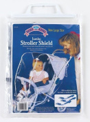 Baby King Jumbo Stroller Shield , New Large Size