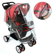 LUPO Universal Baby Stroller Transparent Rain Cover
