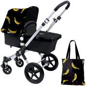 Bugaboo Cameleon3 Accessory Pack - Andy Warhol Banana/Black [Special Edition]