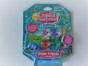 Crystal Surprise Babies Water Friends 4 Pack Series 2