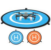 "Drone Landing Pad / Helipad - 27.6"" (70cm) Fast Folded - Lanch Pad For RC Quadcopter Helicopter DJI Phantom 4 Phantom 3 2 1 inspire 1"