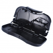 VALYRIA Car Auto Back Seat Folding Foldable Table Drink Storage Holder Food Cup Tray Stand Desk