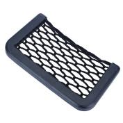 VALYRIA Black Universal Car Seat Side Back Pocket Storage Organiser Net Bag Phone Holder