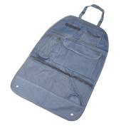 VALYRIA Car Seat Back Organiser Car Multi-Pocket Travel Storage Bag