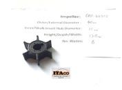 IMPELLER Pump 6E0-44352 47-96305M fit Yamaha Outboard F 4HP 5HP Mariner 18-3073