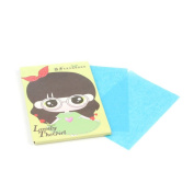 50 Sheets Oil Absorbent Blotting Paper for carrying around